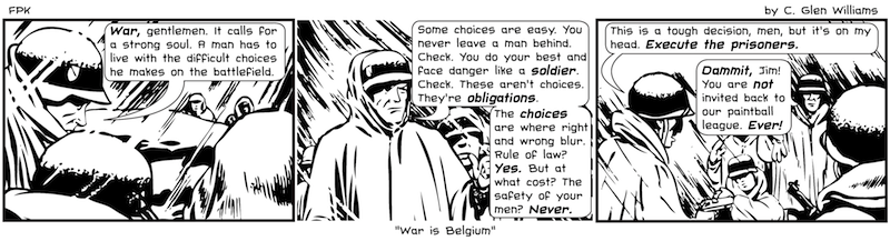 War is Belgium