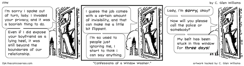 Confessions of a Window Washer