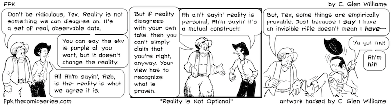 Reality is Not Optional