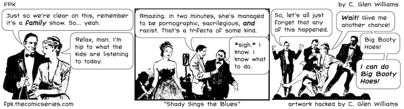 Shady Sings the Blues