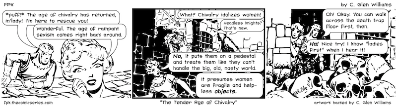 The Tender Age of Chivalry