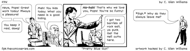 Pretty Blue Gun