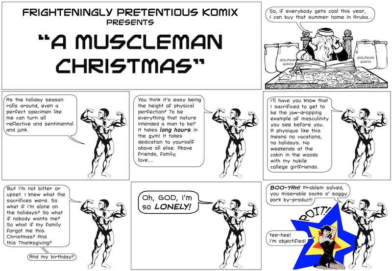 A Muscleman Christmas!