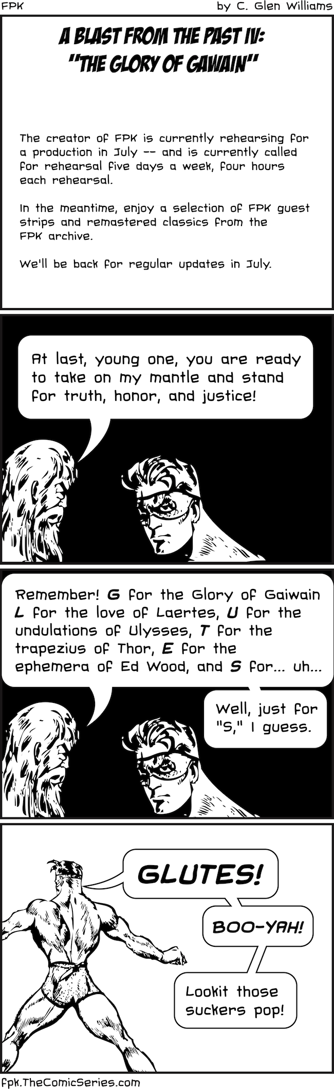 Blast From the Past IV: The Glory of Gawain