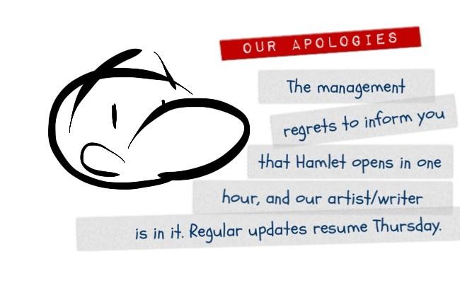 Our Apologies