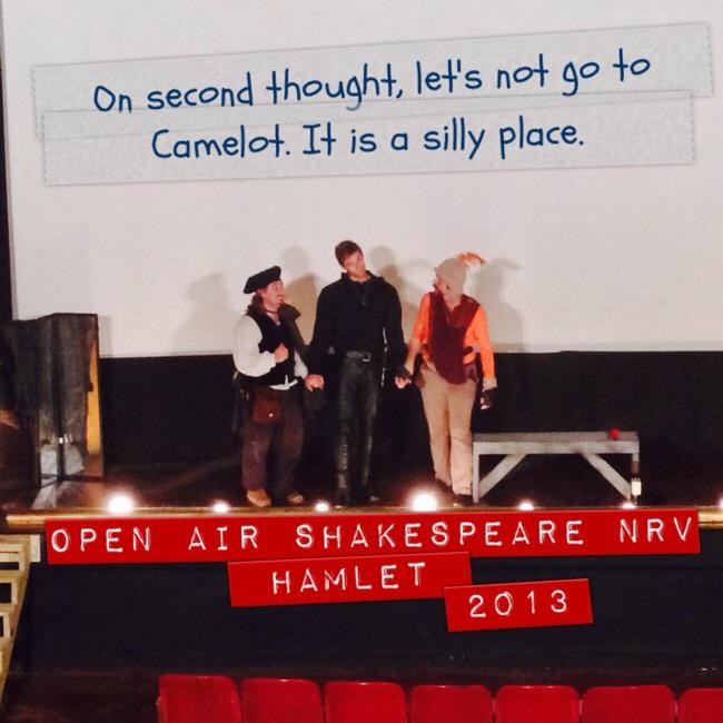 Hamlet ends this weekend.