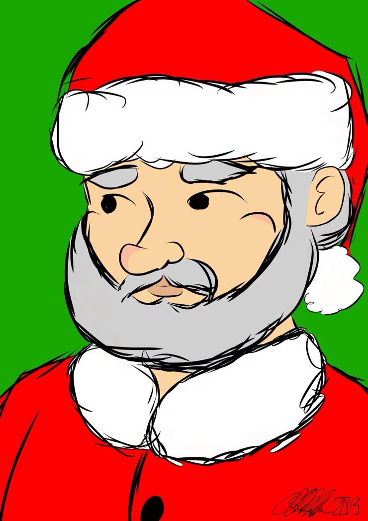Santa Portrait 2013