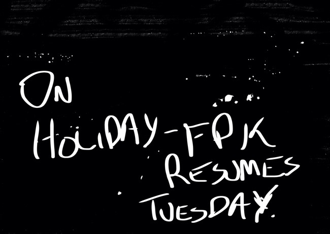 Resumes Tuesday