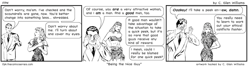 Being the Nice Guy