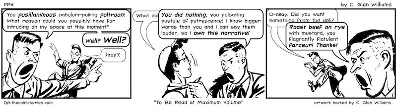 To Be Read at Maximum Volume