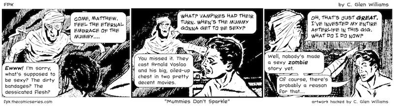 Mummies Don't Sparkle